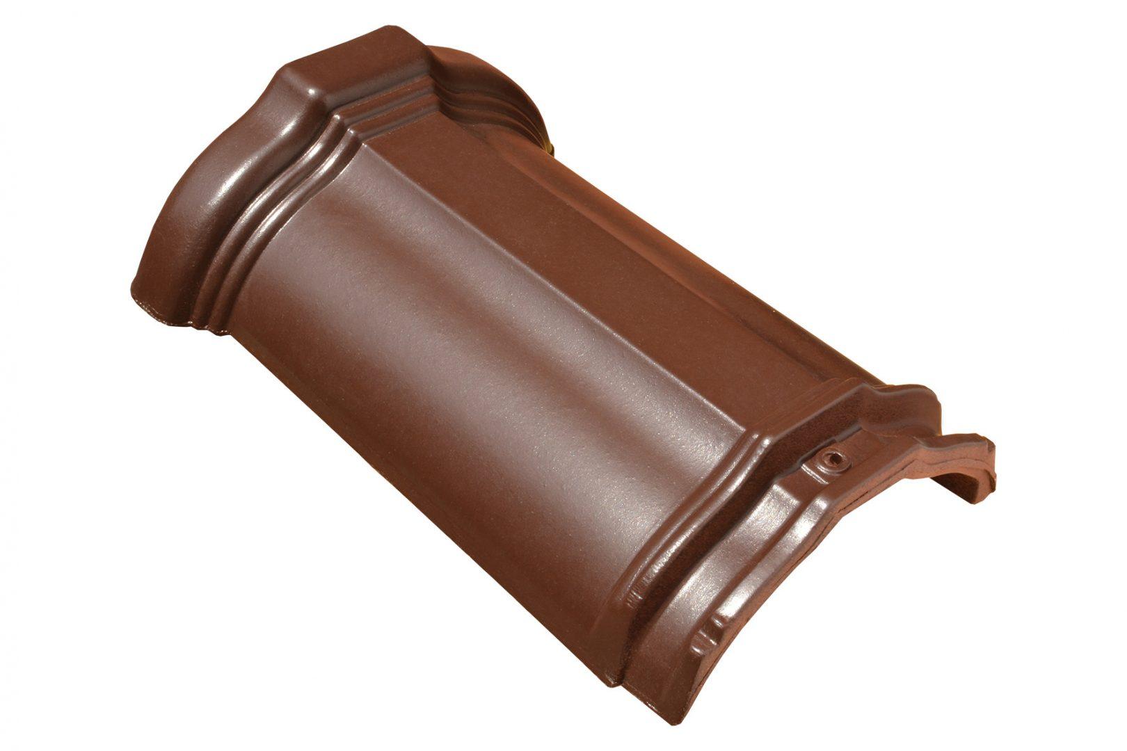 Žlebnjak Glinex Klasik - braon